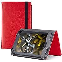 MarBlue Atlas Plus - Funda para Fire HD 6 (4ª generación - modelo de 2014), color rojo