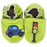 Kinderschuhe in verschiedenen Farben und Designs für Jungs von HOBEA-Germany, Schuhgröße:26/27 (30-36 Monate);Modell Schuhe:Auto mit Ampel