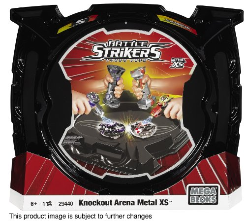 Mega Bloks - 29440VT - Jeux de construction - Battle Strikers - ARENE REFRESH DLX