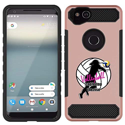 Google Pixel 2 XL, Rose Gold - Volleyball Girl