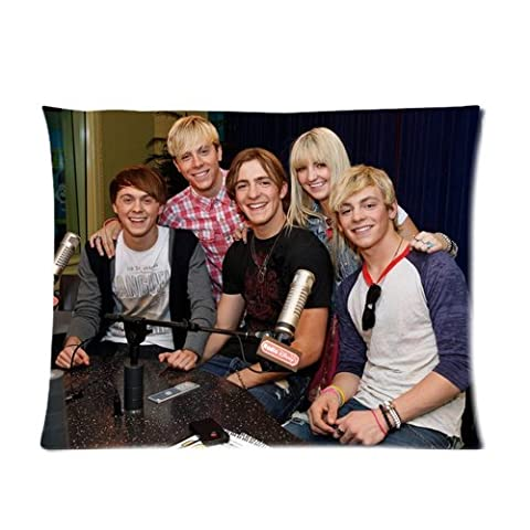 Famous Movie Star & Music Singer Band Series Custom Soft Pillow Case Cover 20X26 (One Side) - R5 Loud Ross Lynch Family Riker Ross Ryland Rocky Rydel Fashion Personalized Pillowcase