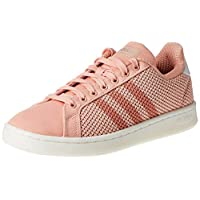 Adidas Grand Court, Women's Tennis Shoes, Pink (DUSt Pink/DUSt Pink/Clear Orange), 5 UK (38 EU),F36501