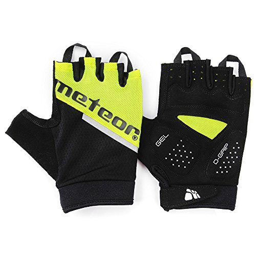 meteor GX60 GEL Fahrradhandschuhe für herren & junge kinder: Radhandschuhe perfekt für MTB, Fahrrad Straßenrennen, mountainbike Downhill Wandern und andere Radsport handschuhe