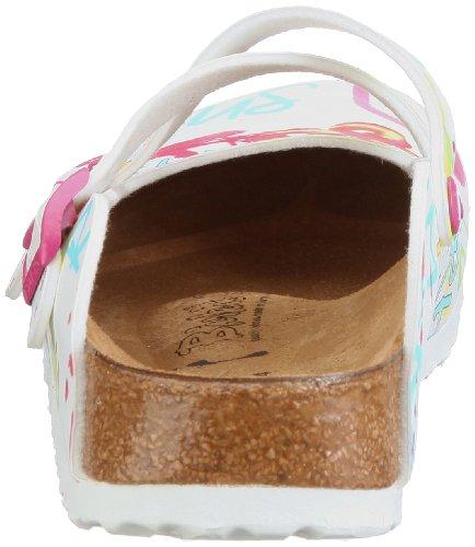 Birki Dorian , Chaussures femme Blanc-TR-A-4-113
