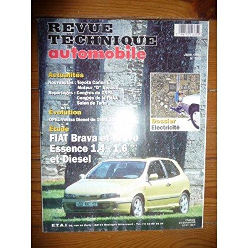 RTA0585 - REVUE TECHNIQUE AUTOMOBILE FIAT BRAVO et BRAVA Essence 1.4 - 1.6 et Diesel