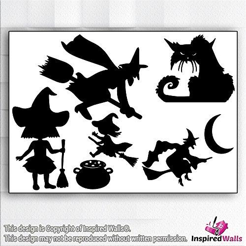 nted Halloween Furchtsam Vinyl Decal Wandaufkleber Fenster by Inspired Walls® (Haunted Halloween-ideen)