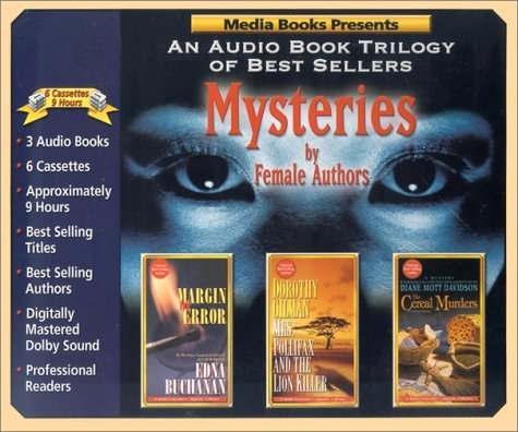 Mysteries by Female Authors: Margin of Error / Mrs. Pollifax and the Lion Killer / The Cereal Murders by Edna Buchanan (2002-01-02)