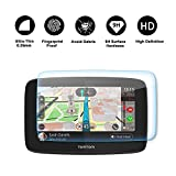 RUIYA Protecteur d'écran en verre trempé pour système de navigation TomTom GO 520 5200 GPS,Film invisible et transparent, Cristal clair HD Protecteur d'écran, anti-rayures 【5 pouces】