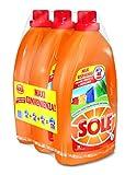 Sole Colori Protetti Detersivo Liquido - Pacco da 3 x 40 Misurini, 120 Misurini