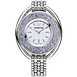 Swarovski Crystalline Oval Damen-Armbanduhr Armband Edelstahl Quarz 5263904