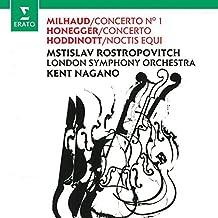 Milhaud Concerto 1: Honegger Concerto