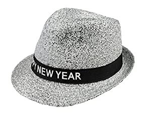 Boland 13450 sombrero Sparkling Happy New Year, One size
