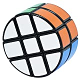 Maomaoyu Cubo Magico Cilindro 2x3x3 Crcuito Magic Speed Cube Niños Juguetes Educativos Negro