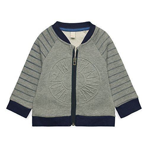 ESPRIT KIDS Baby-Jungen RM1702209 Strickjacke, Grau (Mid Heather Grey 260), 68 -