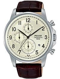 Pulsar Herren-Armbanduhr Analog Quarz Leder PM3071X1