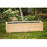 ¡Maceta, jardinera, macetero de madera! Hitachi 40 hasta 120 cm.