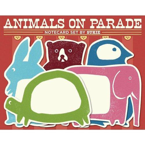 Animals on Parade Notecard Set by Sukie (Parade-zubehör)