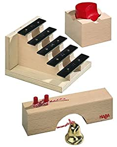 haba 1149 accessoires pour toboggan billes escalier sonore jeux et jouets. Black Bedroom Furniture Sets. Home Design Ideas