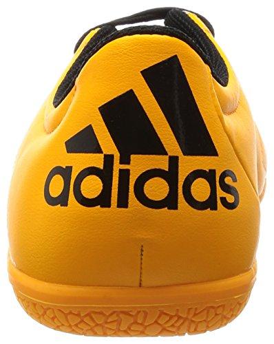 adidas X 15.3 In Leather, Scarpe da Calcio Uomo Arancione / nero / colore rosa (Dorsol / Negbas / Rosimp)