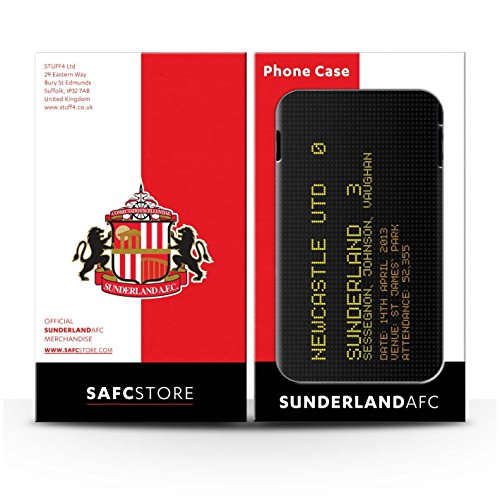 Officiel Sunderland AFC Coque / Brillant Robuste Antichoc Etui pour Apple iPhone 5C / Pack 6pcs Design / SAFC Résultat Football Célèbre Collection 2013