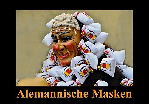 Alemannische Masken (Tischaufsteller DIN A5 quer): Gefürchtet und geliebt (Tischaufsteller, 14 Seiten) (CALVENDO Kunst) [Taschenbuch] [Sep 12, 2014] Laue, Ingo