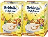 Bebivita Milchbrei Frucht, 2er Pack (2 x 600g)