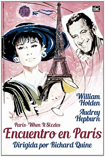 PARIS, WHEN IT SIZZLES (Encuentro en Paris) Region 2 - PAL format - Audrey Hepburn
