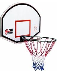Sure Shot Kids Junior - Tablero de baloncesto infantil, color rojo / blanco