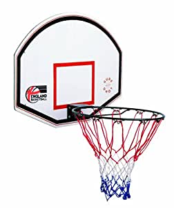 Sure Shot Panneau & arceau pour panier de basketball Junior Blanc/rouge: Amazon.fr