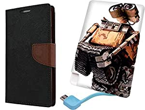 APE Wallet Cover and Printed Power Bank for Samsung Galaxy Grand i9082