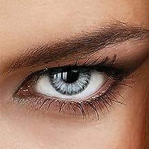 Marble Gray lentilles de contact sans correction dans gris - de la colorée LuxDelux®