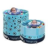 Yugang Tragbare Badewanne des Babykindes Verdickte aufblasbares unabhängiges Portable mit Bequemer Hoher Qualität Weiche Sicherheitsbadewanne 70 * 70CM
