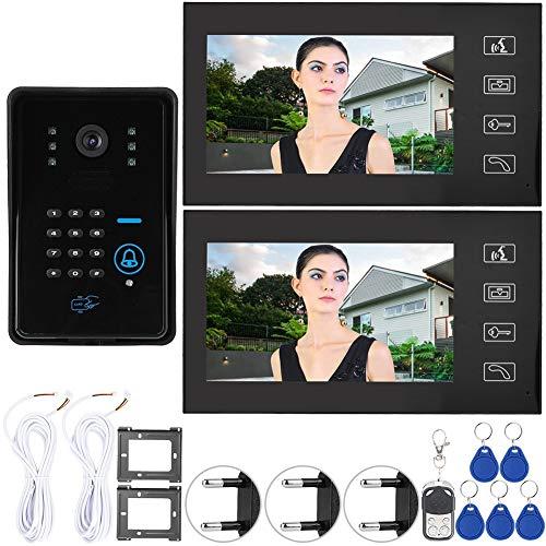 Monitor de teléfono con intercomunicador con Cable, Sistema de Seguridad para el...