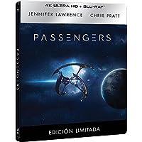 Passengers (4K UHD + BD) (Edición Especial Metálica) - Exclusiva Amazon