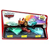 Disney Pixar - CARS - Movie - Story Tellers Collection - Die-Cast 1:55 - 3-Pack - Wedding Day Ramone & Tractor & Brand New Teal Mater - OVP