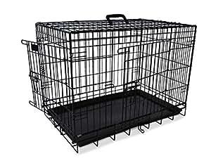 Nobby - 62310 - Cage de transport pliable - Noir