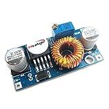HiLetgo® - XL4005CC-CC 3 pezzi, modulo convertitore step-down, riduttore di alimentazione regolabile, da 5 a 32 V, grande capacità di carico corrente 5 A