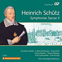 Schütz: Symphoniae Sacrae II (GA Vol. 18)