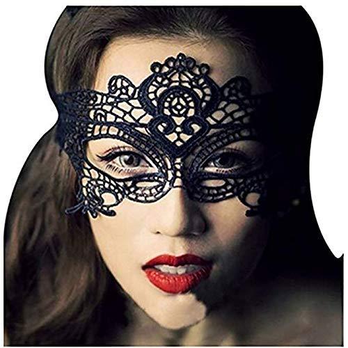 iMapo Maske, sexy Frauen Mädchen Spitze Augenmaske, Oper Halloween Tanzen Abend Party Elegant Karneval Karneval Queen - 2