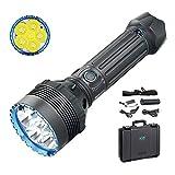 Olight X9R Marodeur Taschenlampe 25000 Lumen / 630 Meter 6 * Cree XHP70.2 LED Leistungsstarke große Taschenlampen Wiederaufladbare hoher Helligkeit Taschenlampe, mit Tidusky-Batteriefach