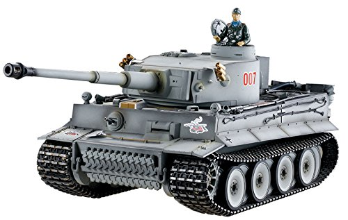 Tiger I. Profi Metallausführung IR Version TORRO Panzer mit Holzkiste - 2