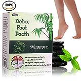 Detox Fußpflaster, Detox Vitalpflaster, Fusspflaster zur Entgiftung | Qualitativ hochwertig und gut verträglich, Bambus Pflaster Wellness- Detox-Pflaster zieht die Toxine Spa