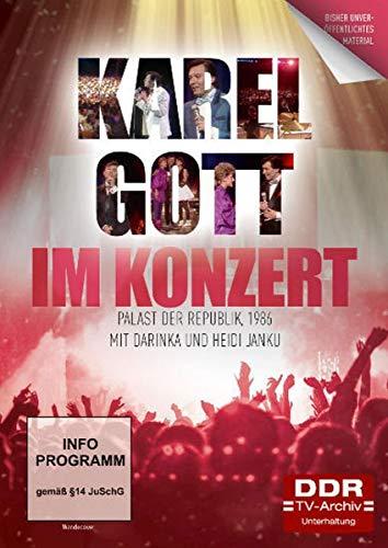 Karel Gott - Im Konzert 1986 im Palast der Republik mit Darinka und Heidi Janku (DDR TV-Archiv)