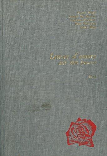 Lettere d'amore dell' '800 francese.
