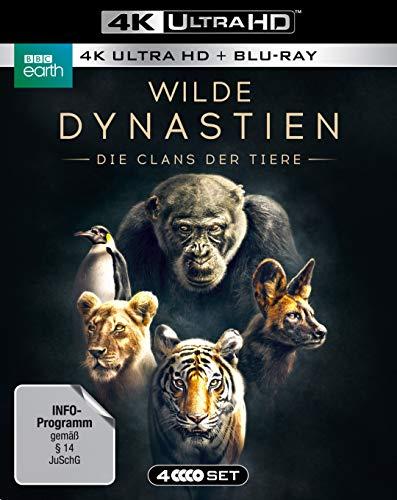 WILDE DYNASTIEN - Die Clans der Tiere (4K Ultra HD)...
