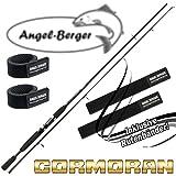 Cormoran I-Cor Black Spin Spinnrute alle Modelle mit Angel Berger Rutenband (1,80m / 3-10g)
