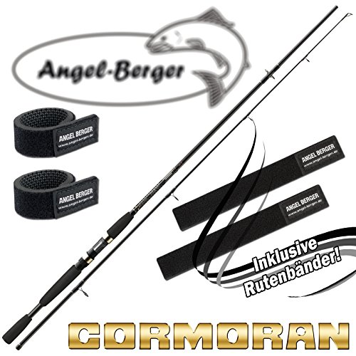 Cormoran I-Cor Black Spin Spinnrute alle Modelle mit Angel Berger Rutenband (2,70m / 7-28g)