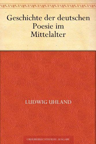 Geschichte der deutschen Poesie im Mittelalter