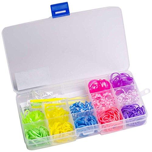 Preisvergleich Produktbild Glow2B Spielwaren 5620024 - Loom's  Box for Girls, 360 Stück