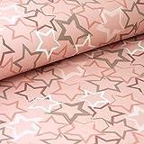 Pepelinchen Soft-Shell Sterne auf rosa